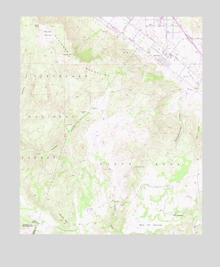 Wildomar, CA USGS Topographic Map