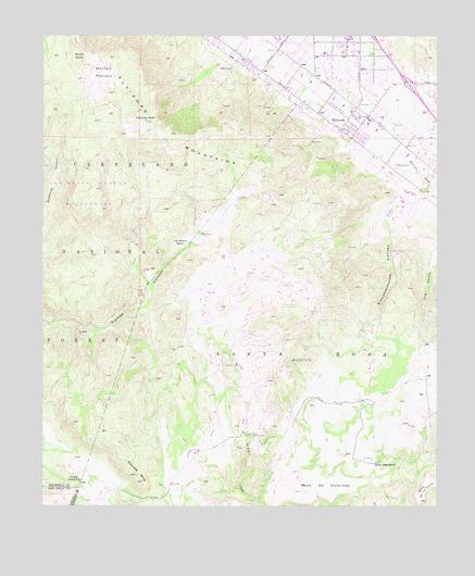 Wildomar Ca Topographic Map Topoquest