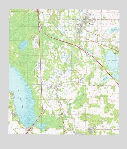 Wildwood Florida Map.Wildwood Fl Topographic Map Topoquest