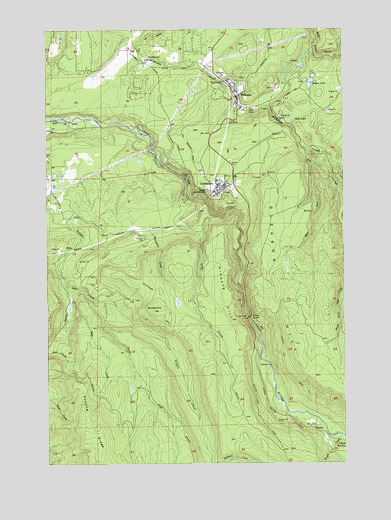 Wilkeson, WA USGS Topographic Map
