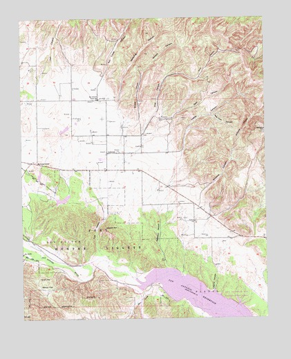 Williams Hill, CA USGS Topographic Map