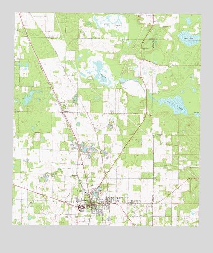 Williston Florida Map.Williston Fl Topographic Map Topoquest