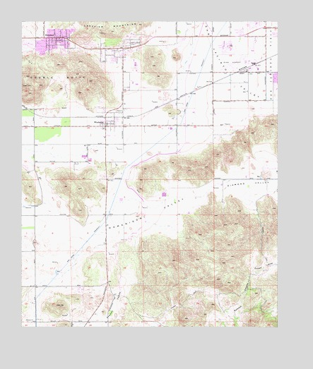 Winchester, CA USGS Topographic Map