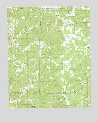 Wirth, AR USGS Topographic Map