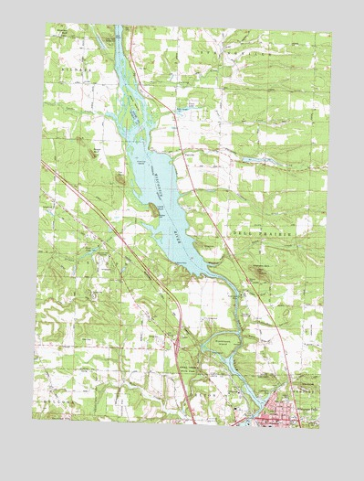 topographic maps of wisconsin. WI USGS Topographic Map