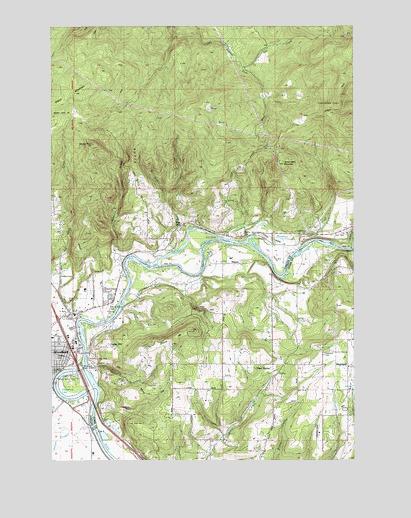 Woodland Wa Topographic Map Topoquest