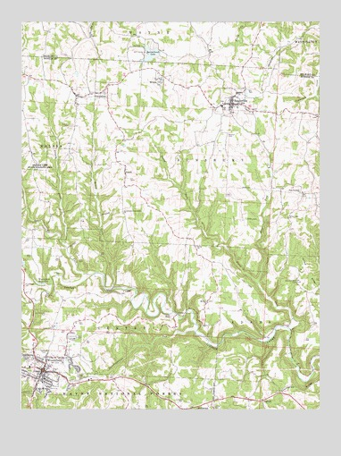 Woodsfield Ohio Map.Woodsfield Oh Topographic Map Topoquest