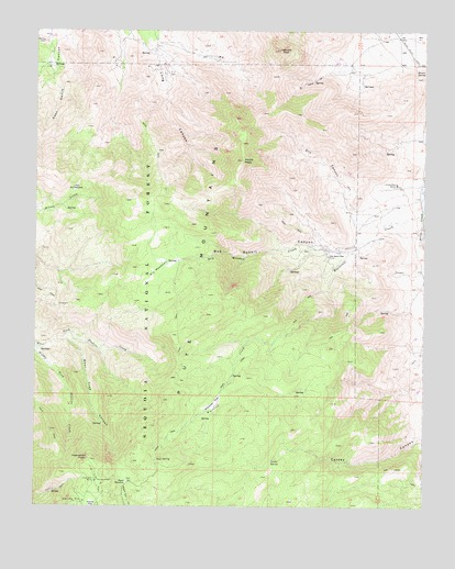 Woolstalf Creek, CA USGS Topographic Map