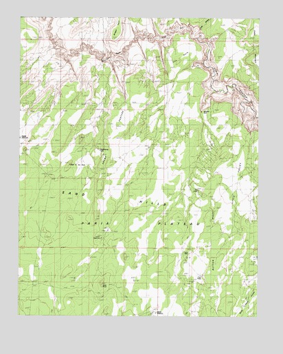 Wrather Arch, AZ USGS Topographic Map