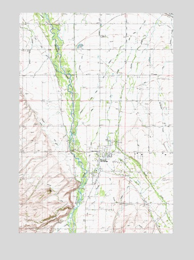 Bozeman Hot Springs, MT USGS Topographic Map