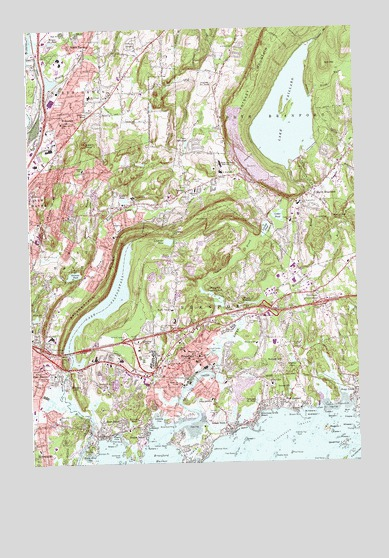 Branford, CT Topographic Map - TopoQuest