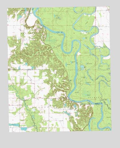 Aberdeen, AR Topographic Map - TopoQuest