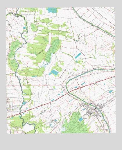 Breaux Bridge LA Topographic Map  TopoQuest