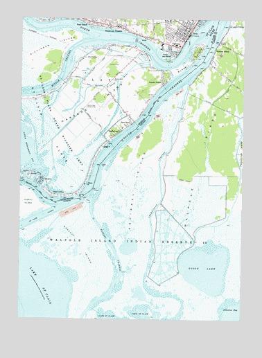Algonac Michigan Map.Algonac Mi Topographic Map Topoquest