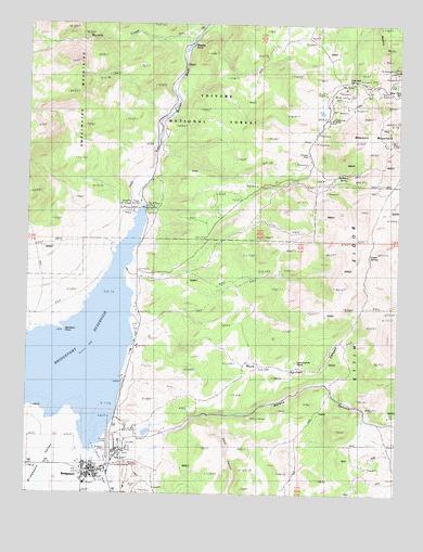 Bridgeport CA Topographic Map  TopoQuest