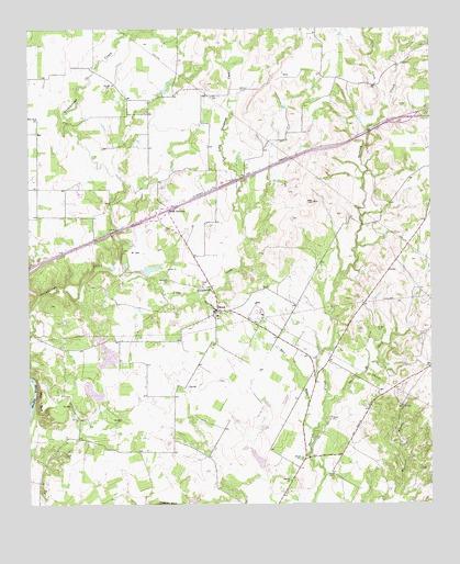 Brock Texas Map Brock, TX Topographic Map   TopoQuest