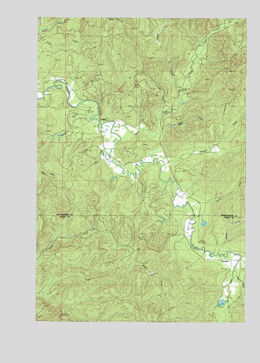 Brooklyn Wa Topographic Map Topoquest