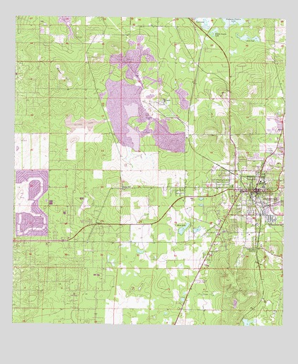 Brooksville Florida Map.Brooksville Fl Topographic Map Topoquest