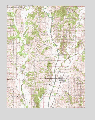 Browning, MO USGS Topographic Map