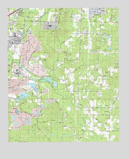 Bryant, Arkansas Topographic Map Images