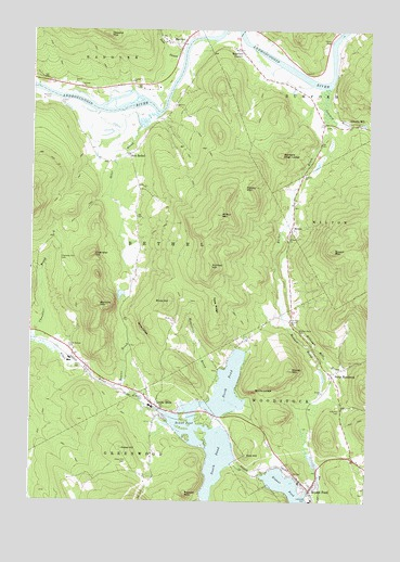 Bryant Pond Me Topographic Map Topoquest