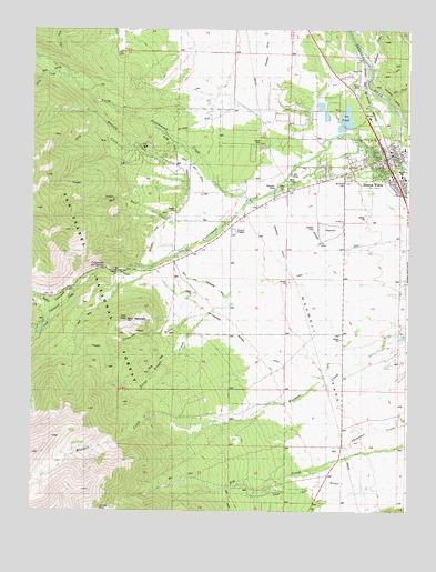 Buena Vista West CO Topographic Map TopoQuest - Topographic map of colorado
