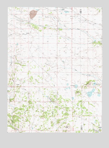 Buford, WY USGS Topographic Map