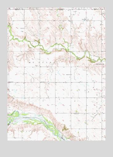 Butte NW NE Topographic Map  TopoQuest
