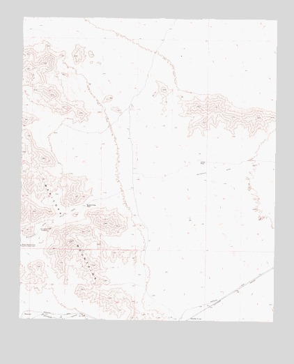 Butterfield Pass, AZ USGS Topographic Map