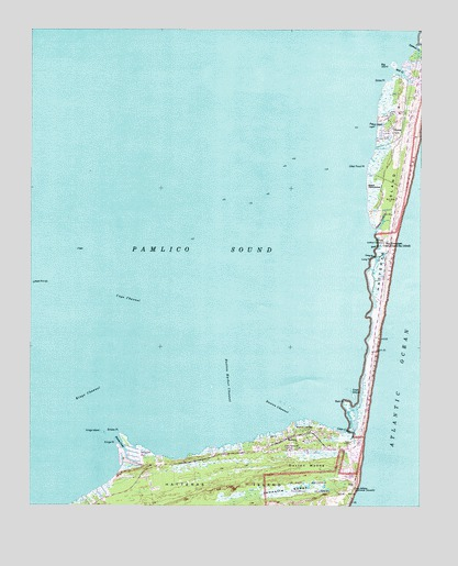 Buxton Nc Topographic Map Topoquest