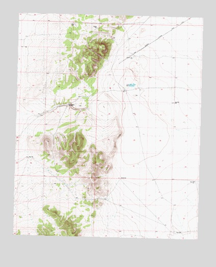 C-N Lake, NM USGS Topographic Map