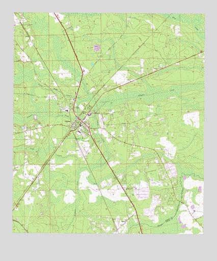 Callahan, FL Topographic Map   TopoQuest