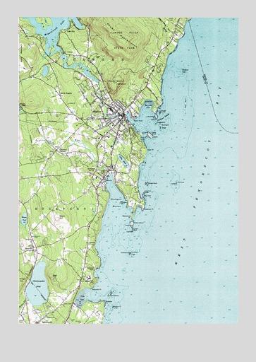 map of camden maine area Camden Me Topographic Map Topoquest map of camden maine area