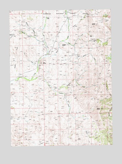 Cornwall Mountain, NV USGS Topographic Map