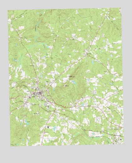 Dallas Ga Topographic Map Topoquest