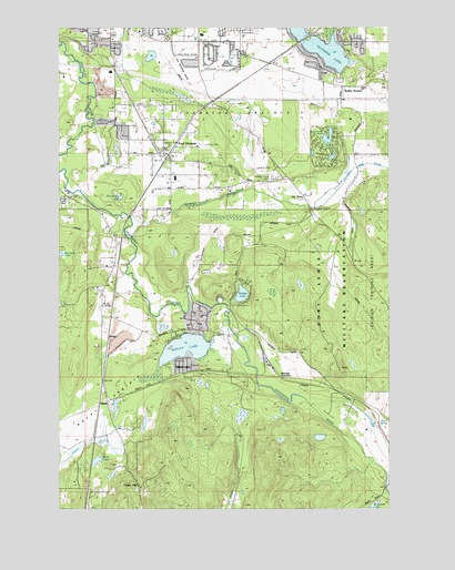East Olympia, WA Topographic Map - TopoQuest