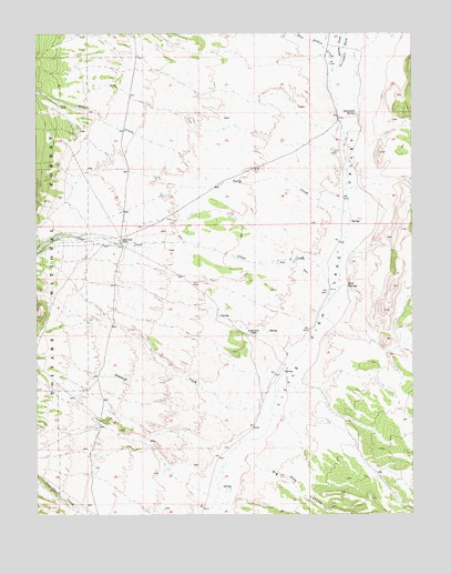 Fish springs nv topographic map topoquest for Fish springs nevada