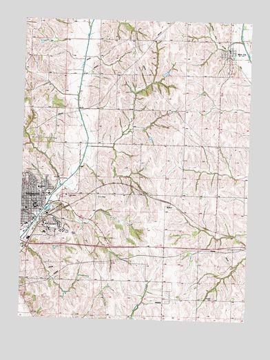 Glenwood Ia Topographic Map Topoquest