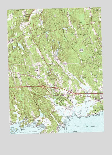 Guilford, CT Topographic Map - TopoQuest