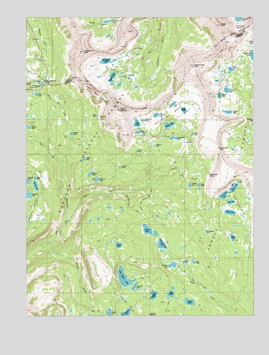 Hayden Peak, UT USGS Topographic Map