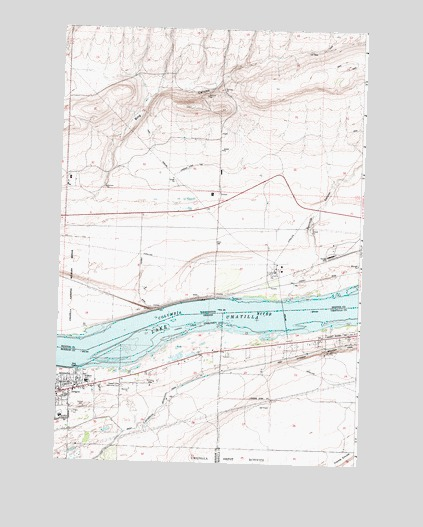 Irrigon Oregon Map.Irrigon Or Topographic Map Topoquest