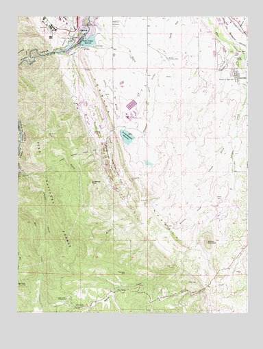Kassler, CO USGS Topographic Map