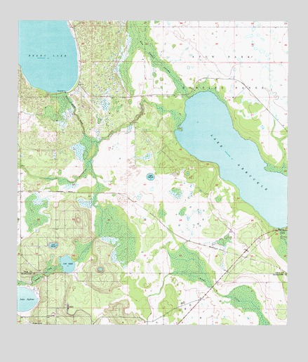 Florida Topographic Map.Lake Arbuckle Fl Topographic Map Topoquest