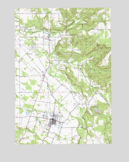 Molalla Or Topographic Map Topoquest