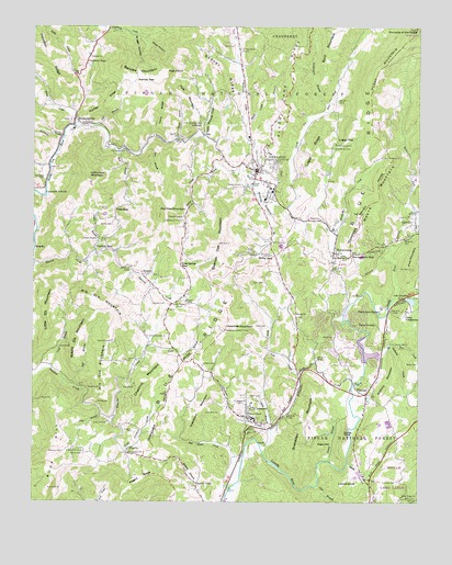 Newland Nc Topographic Map Topoquest