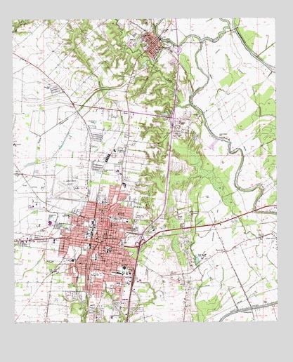 Opelousas Louisiana Map.Opelousas La Topographic Map Topoquest