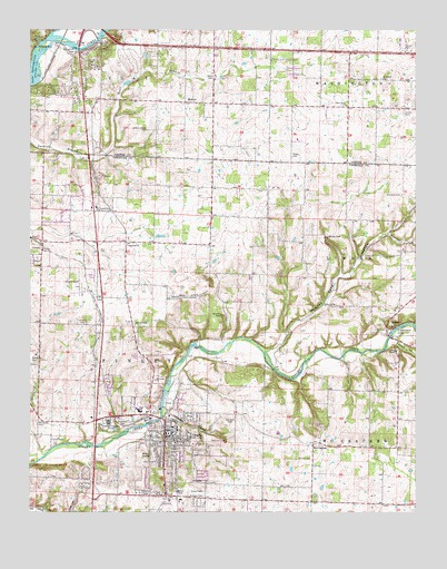 Ozark Mo Topographic Map Topoquest