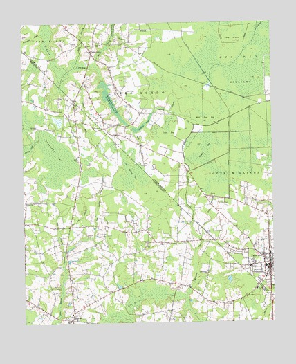 Tabor City Nc Map.Tabor City West Nc Topographic Map Topoquest