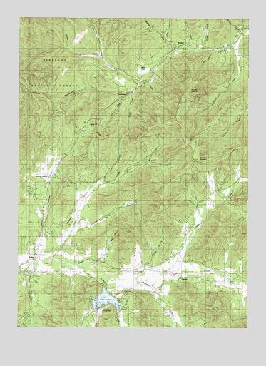 Selma Or Topographic Map Topoquest