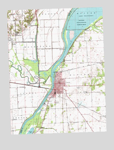 Havana, IL Topographic Map - TopoQuest on outline map of il, topographic map of il, blank map of il, color map of il,